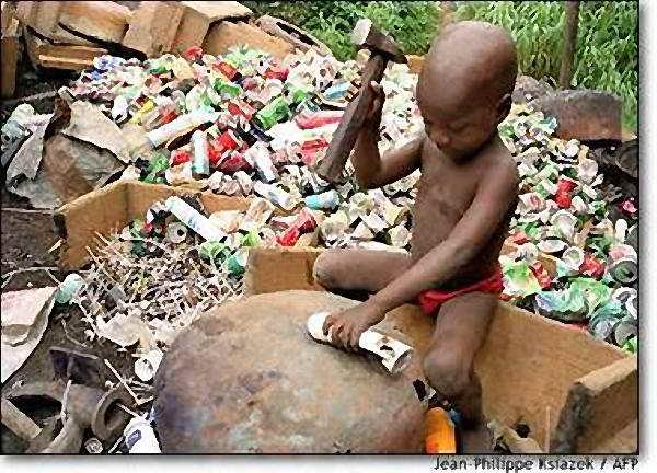 Más de 400 millones de menores son niños esclavos
